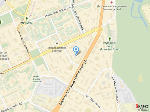 map Контакты