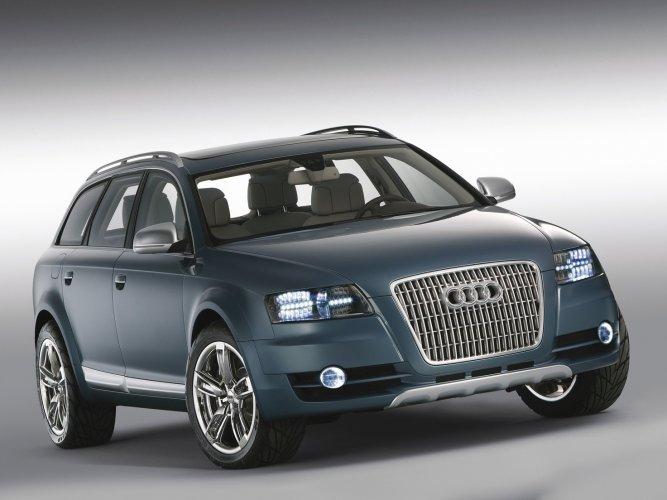 Allroad-quattro-concept Концепт кары легендарной компании AUDI