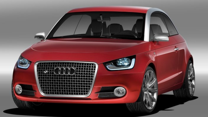 Audi-A1-project-quattro Концепт кары легендарной компании AUDI