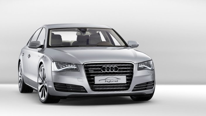 Audi-A8-Hybrid Концепт кары легендарной компании AUDI