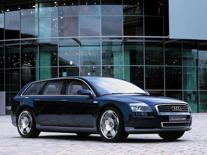 Audi-Avantissimo Концепт кары легендарной компании AUDI