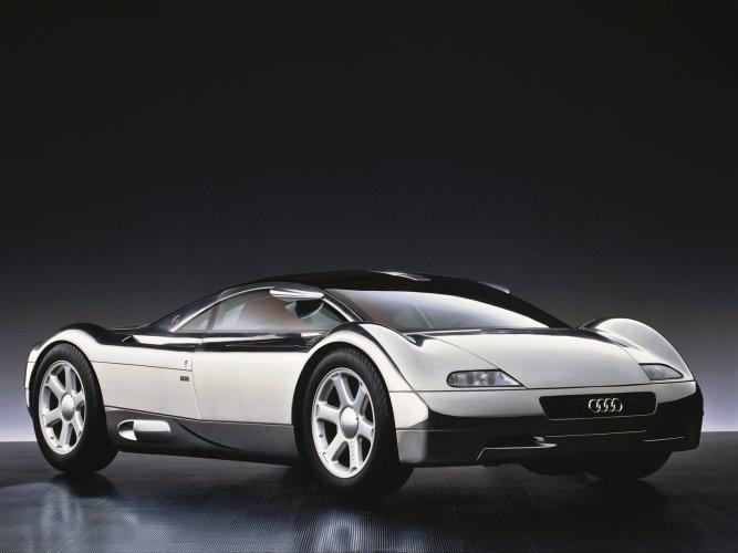 Audi-Avus-quattro Концепт кары легендарной компании AUDI