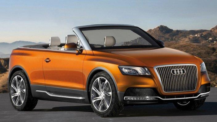 Audi-Cross-Cabriolet-quattro Концепт кары легендарной компании AUDI