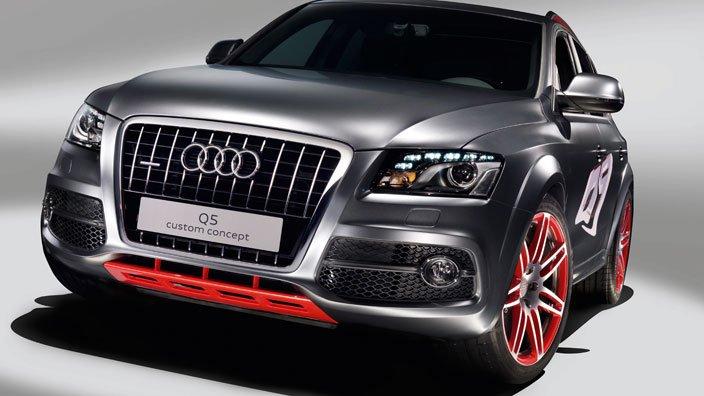 Audi-Q5 Концепт кары легендарной компании AUDI