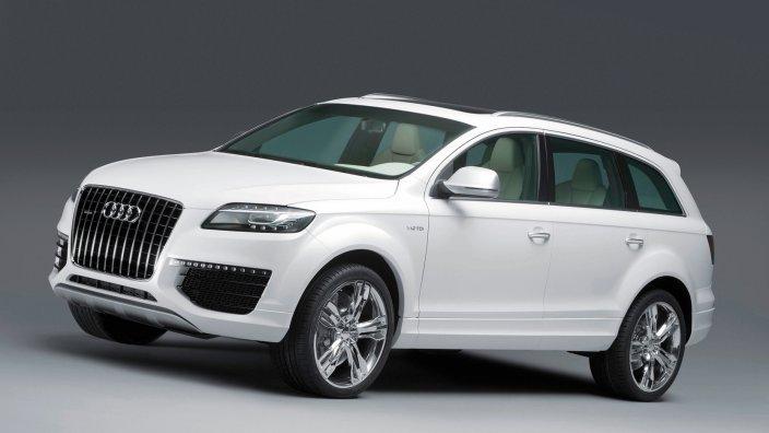 Audi-Q7-V12-TDI Концепт кары легендарной компании AUDI