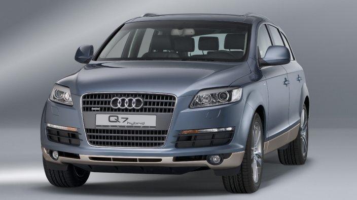 Audi-Q7-hybrid-concept Концепт кары легендарной компании AUDI