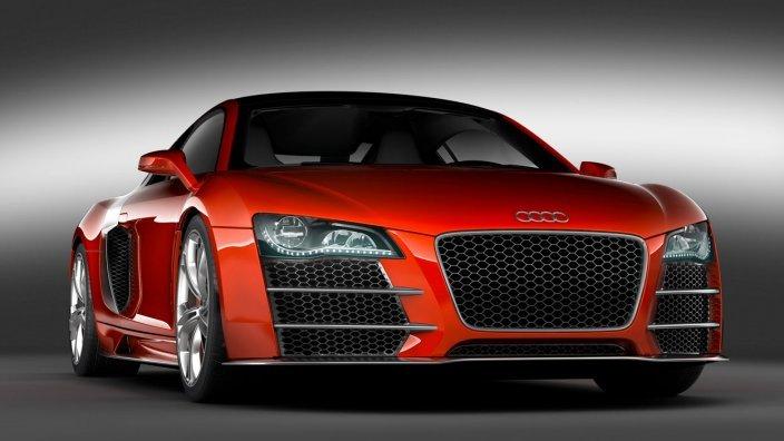 Audi-R8-TDI-Le-Mans Концепт кары легендарной компании AUDI