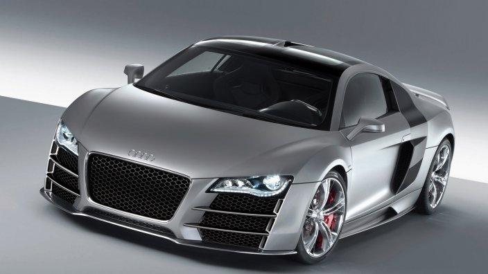 Audi-R8-V12-TDI-concept Концепт кары легендарной компании AUDI