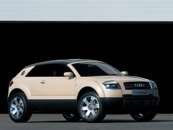 Audi-Steppenwolf Концепт кары легендарной компании AUDI