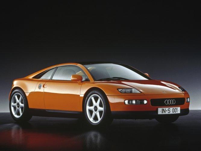 Audi-quattro-Spyder Концепт кары легендарной компании AUDI