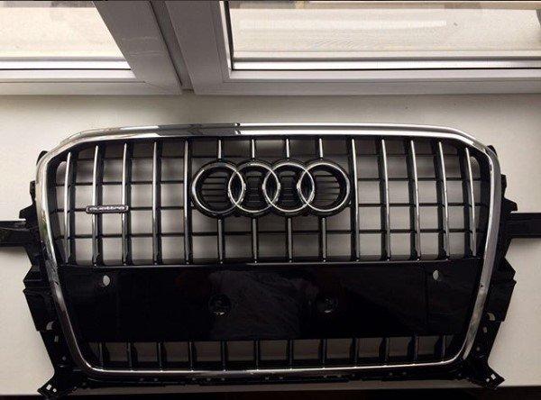 Reshetka-radiatora-Audi-Q5 ВАГ Сервис предлагает оригинальные запчасти