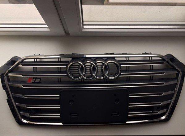 Reshetka-radiatora-Audi-S5-2016-2017 ВАГ Сервис предлагает оригинальные запчасти