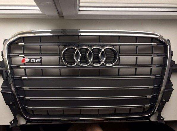 Reshetka-radiatora-Audi-SQ5-platinum ВАГ Сервис предлагает оригинальные запчасти
