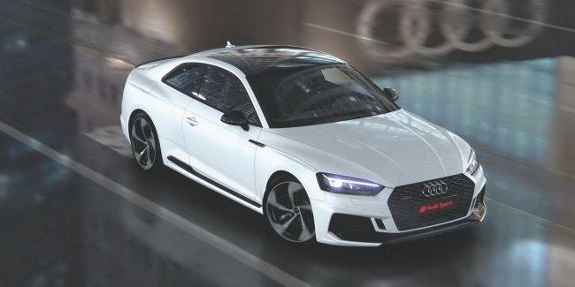 650x Audi продемонстрировала спецверсию RS5 с мотором на 444 силы