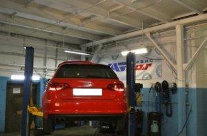 Audi A3 замена стоек стабилизатора