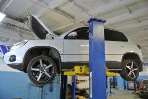 VW Tiguan ТО замена масла, воздушного и салонного фильтра