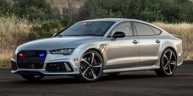 Бронированный RS7 от Audi
