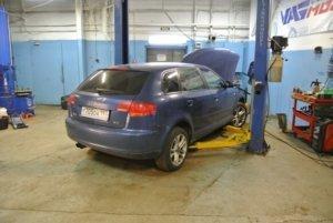 Audi A3 диагностика системы кондиционирования