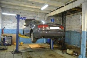 Audi A5 - замена ступичного подшипника