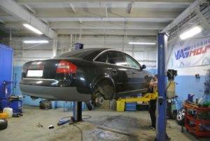 Audi A6 - замена передних и задних амортизаторов