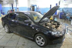 VW Polo - компьютерная диагностика