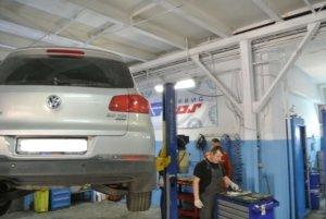 Volkswagen Passat замена задних колодок и ТО