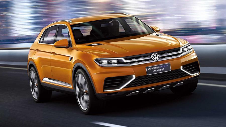 2013-vw-crossblue-coupe-concept Volkswagen представила новый Tiquan как кроссовер-купе