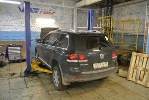 VW Touareg - ТО, тормозные диски