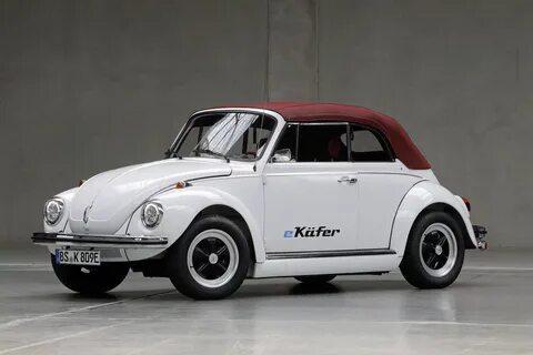i Volkswagen превратил классический «Жук» в электромобиль