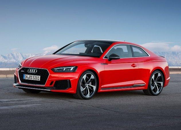 Elektrokary-kupe-RS-5 Audi испытала специальный спортивный бензин из отходов