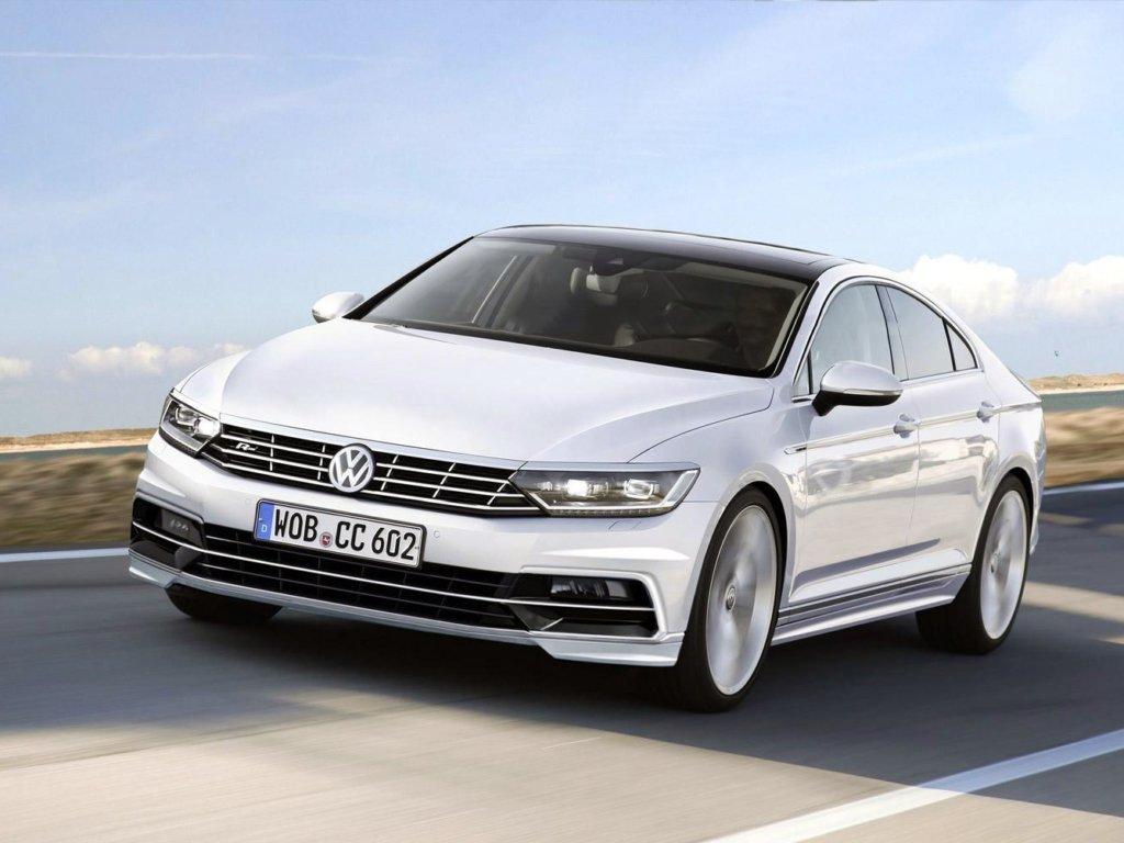 Novyj-Volkswagen-Passat-1024x768 Новый Volkswagen Passat для России будет только с бензиновым двигателем