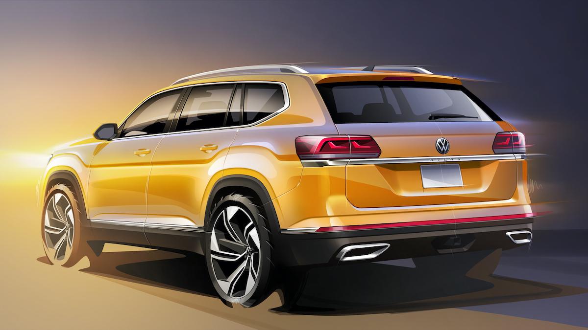 Обновлённый Volkswagen Teramont