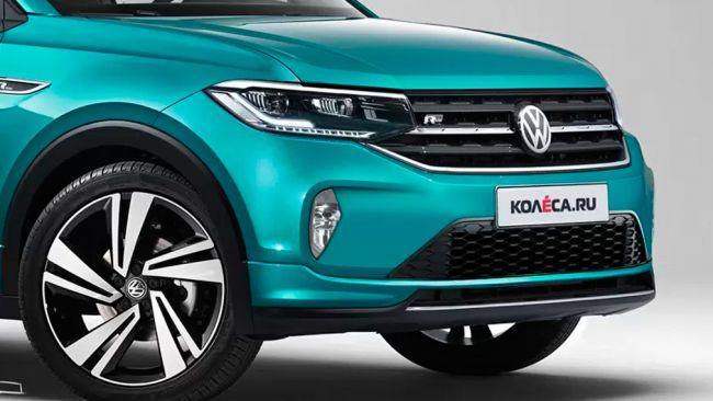 Появились первые изображения бюджетного кросс-купе Volkswagen