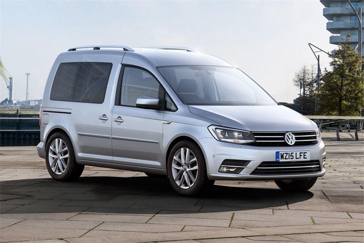 Изображения обновлённого Volkswagen Caddy появились в Сети