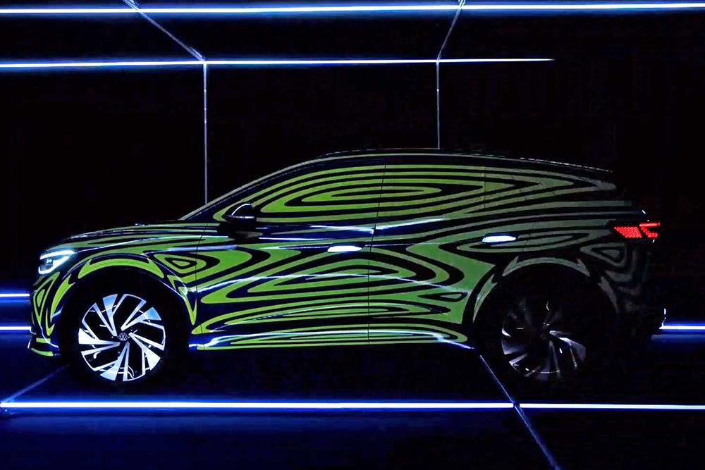 Volkswagen выпустит спортивный электрический кроссовер ID.4 GTX